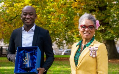 Babbasa is presented the prestigious queen's award for enterprise for transforming the lives of young people from ethnic minority & low-income backgrounds by HRH, The Countess of Wessex.