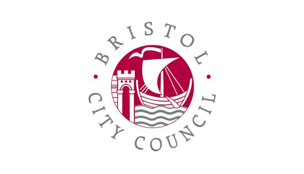 Bristol council logo with white boarders