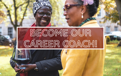 Become our Career Coach!