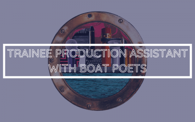 Boat Poets is Hiring a Trainee Assistant Producer!